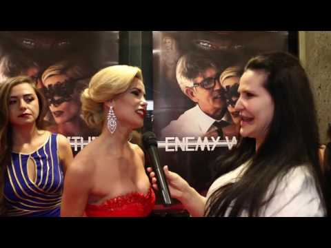 2016 Premiere Enemy Within  Stars Romina Di Lella,Eric Roberts by Jackie the french reporter
