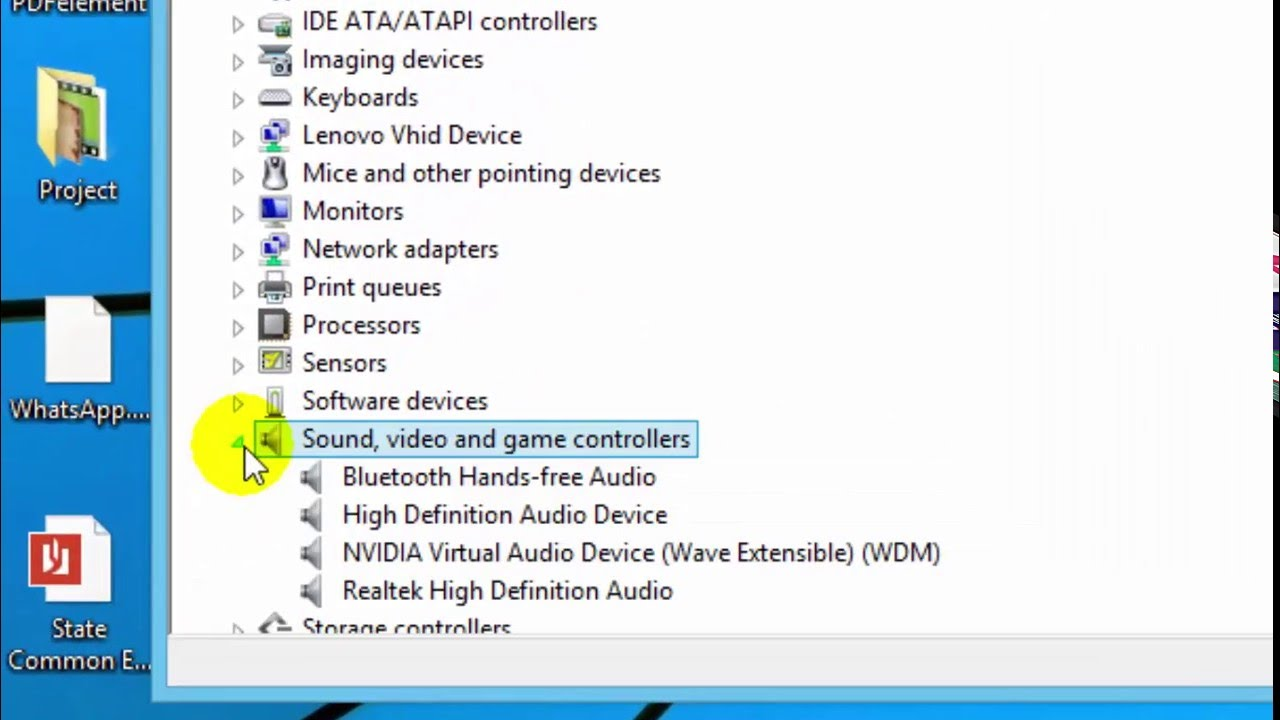 how to update my sound driver windows 8