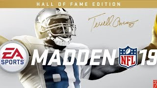 Madden 19 Hall of Fame Edition: Terrell Owens Cover