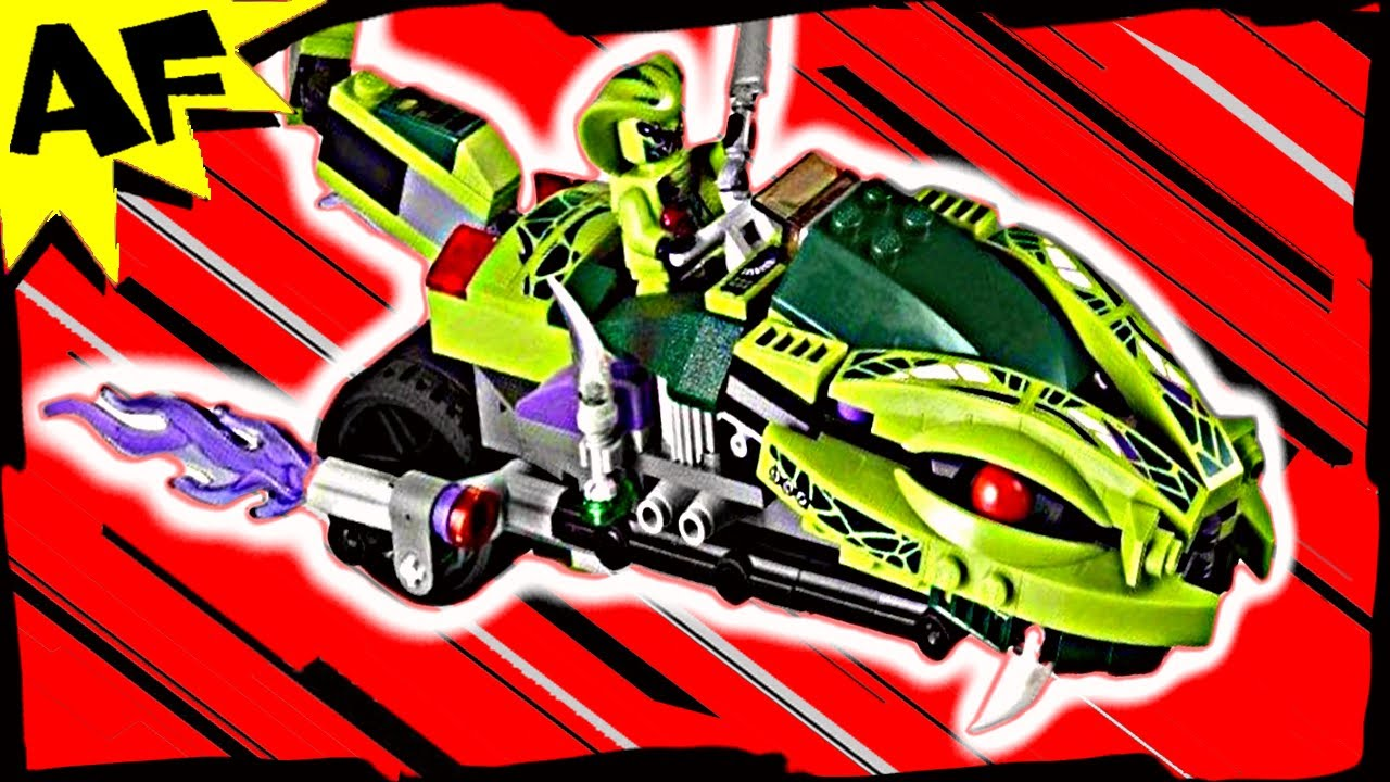 LASHA's BITE CYCLE 9447 Lego Ninjago Stop Motion Set Review