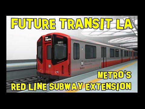 Future Transit LA: Red Line Subway Extension to South LA 🚉