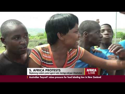 Service Delivery Protests in South Africa