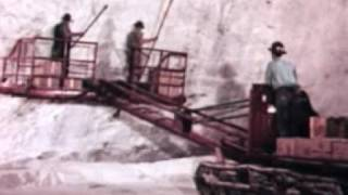 Salt Mining Underground 1958