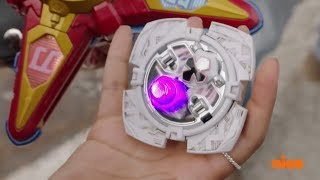 """Power Rangers Super Ninja Steel - The Bolted Power Star 