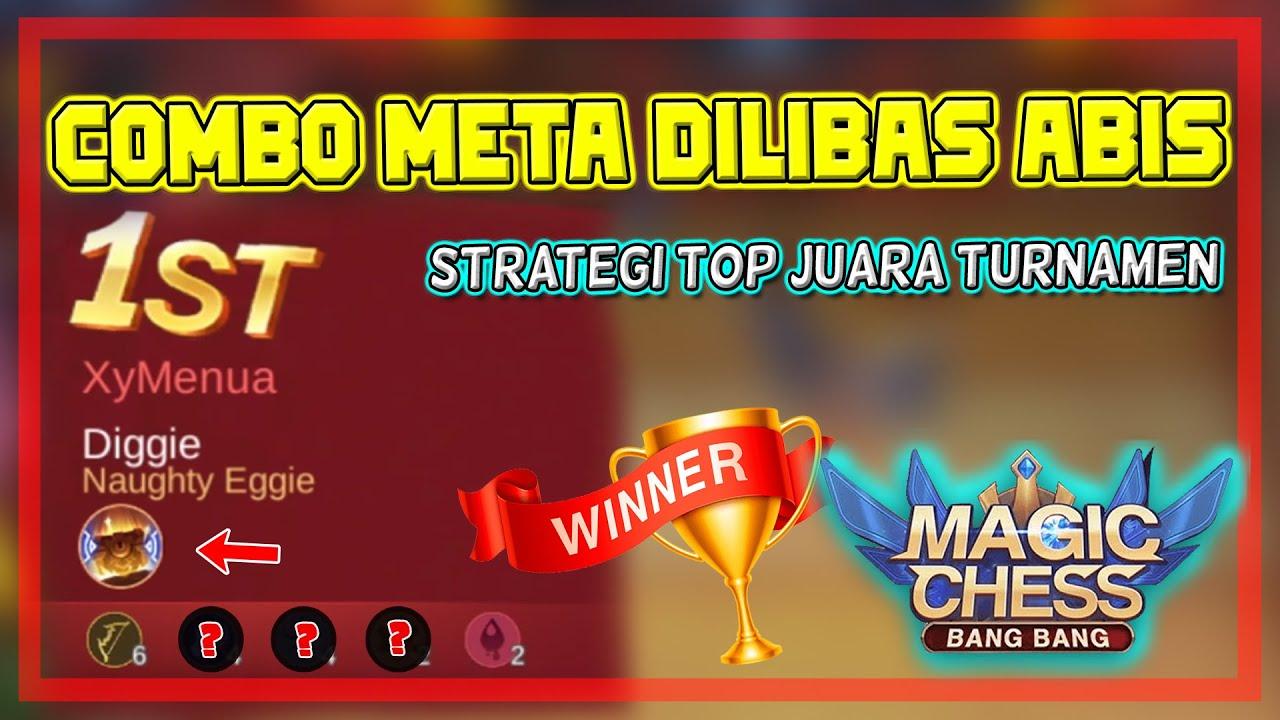 Combo Juara 1 Turnamen - Musuh disikat abis! Combo Terkuat Magic Chess - Mobile Legends Bang Bang