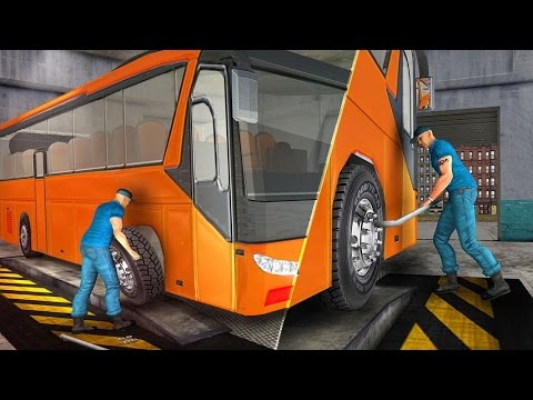 Bus Mechanic Simulator Game 3D (By Amazing Gamez) Android Gameplay HD