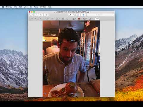 How to crop a photo into a circle on any mac (using Preview app)