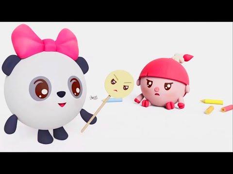 Малышарики - Радуга  - серия 161 - Обучающие мультфильмы для малышей - настроение - Премьера!