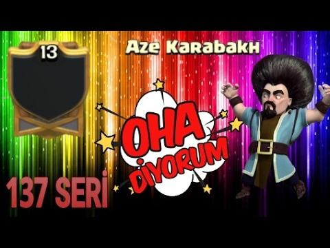 137  SERİLİ - Aze Karabakh ' dayız - Bu klan Yenilmeyi Unutmuş 😂😂🤣| clash of clans