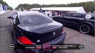 BMW M6 vs Chrysler 300C Supercharged