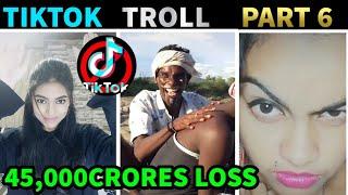 TIK TOK TROLL PART 6 | 45,000 CRORES LOSS IN TIK TOK | NITHIN EDITS