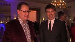 Radio Times Covers Party 2014 - Chris Chibnall and Andrew Buchan