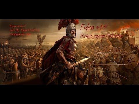 Rome 2 Let`s play #45 Krieg gegen Helvetier - Kampagne der Römer mit dem Haus der Julier