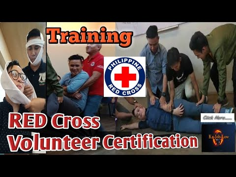 HOW TO BECOME A RED CROSS VOLUNTEER? | RED CROSS TRAINING | CERTIFIED VOLUNTEER | @Ka Job Low | KJL