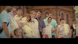 Крещение младенца в храме Александра Невского Новосибирск(