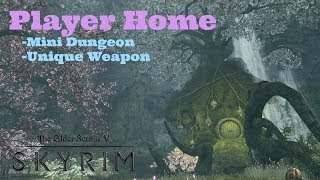 Skyrim PS4 Mods: Chartreusepod Reverie (Player Home)