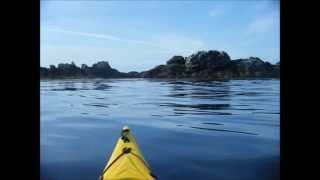 tregunc trevignon en kayak