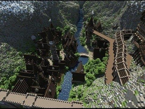 Town of Thorodin - Minecraft Timelapse