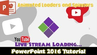 Simple Animated Loader and Spinner   PowerPoint 2016 Tutorial For Beginners