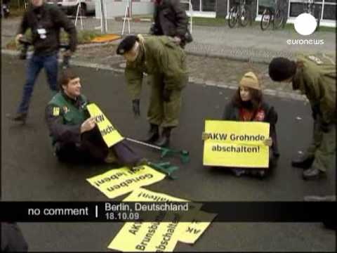 Germany anti nuclear protest