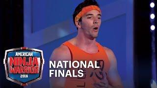 Drew Drechsel Tackles the National Finals Stage 3 | American Ninja Warrior
