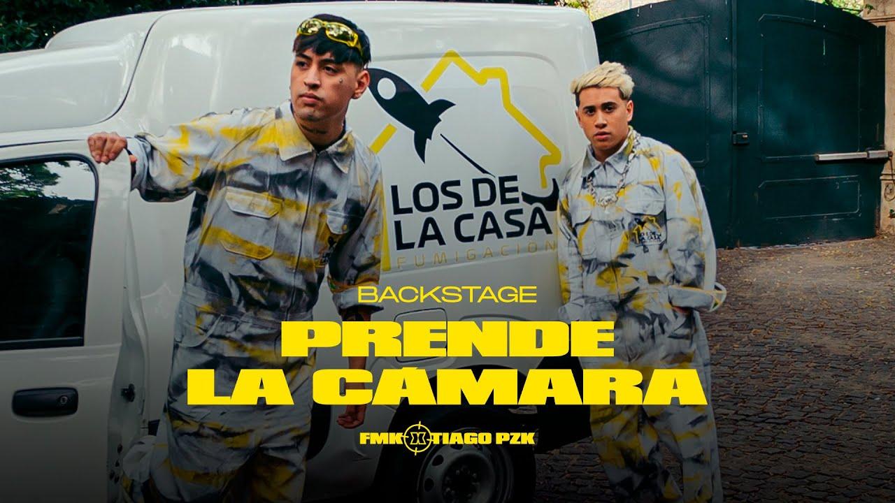 FMK, Tiago PZK - Prende la Cámara (Behind The Scenes)