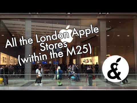 All The London Apple Stores (within The M25)