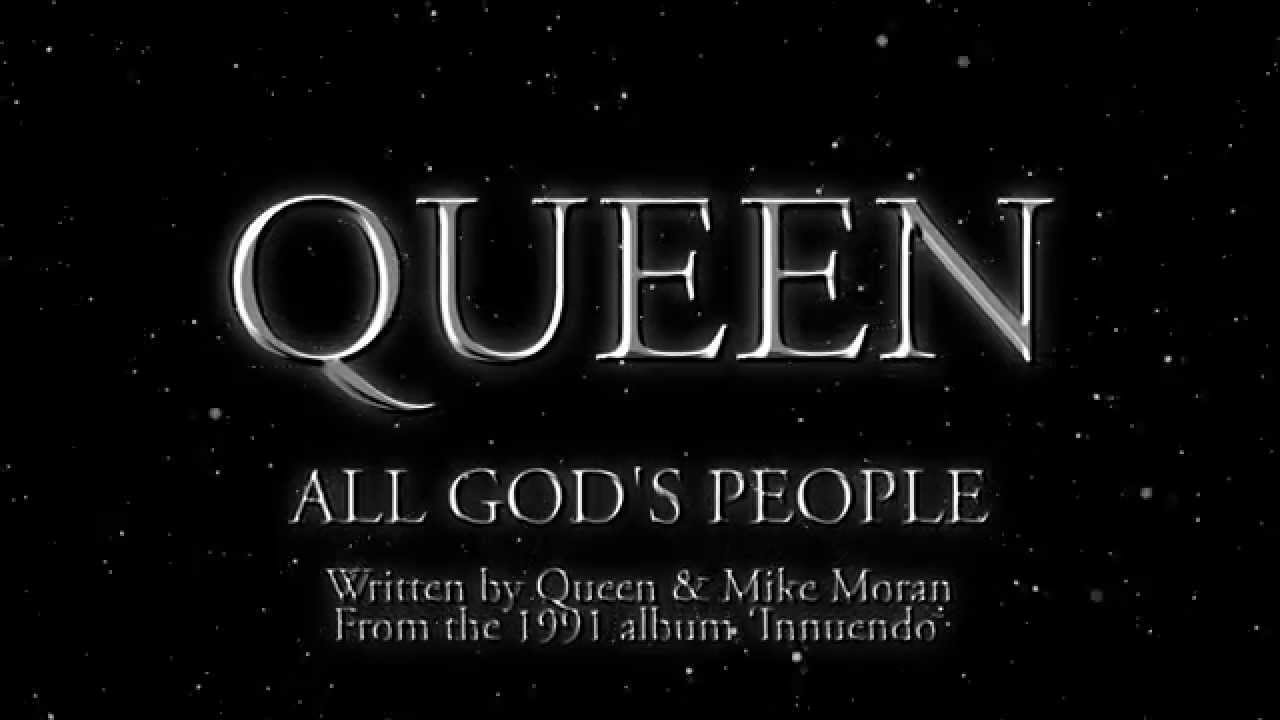 Queen - All God's People - (Official Lyric Video)