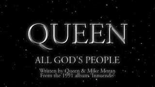 Watch Queen All Gods People video