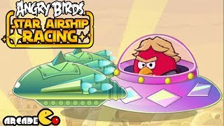 Angry Birds -  Angry Birds ( BEST STUNTS EVER) Star Airship Racing - Angry Birds Game
