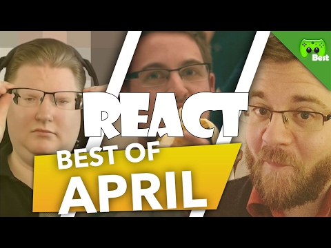 REACT: BEST OF APRIL 2017 🎮 PietSmiet React #18