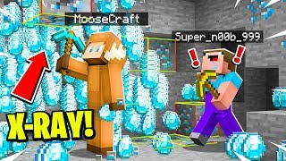 I PRANKED THE DUMBEST PLAYER IN MINECRAFT USING XRAY and FORTUNE 1000!
