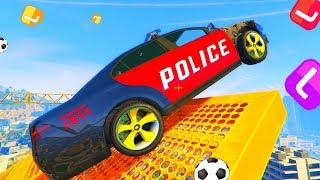 Веселые приключения зубастиков !! Американские Полицейские Тачки 3. Мультики про Машинки.