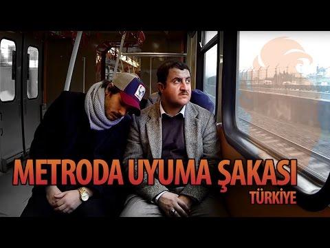 Metroda Uyuma Şakası Türkiye - Hayrettin