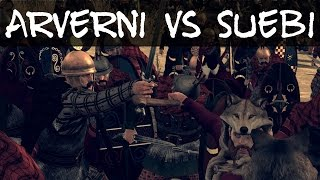 Total War Rome 2 Online Battle 112 Arverni vs Suebi
