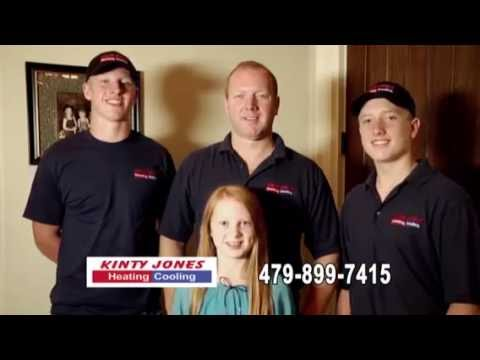 Kinty Jones Heating And Cooling Nwa Commercial