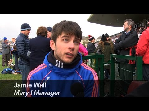 Jamie Wall, 2017 Fitzgibbon Cup winning manager