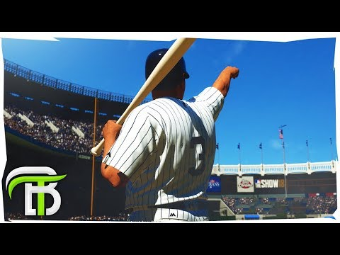 FIRST MAJOR LEAGUE BOMB (MLB 18 Road to the Show)