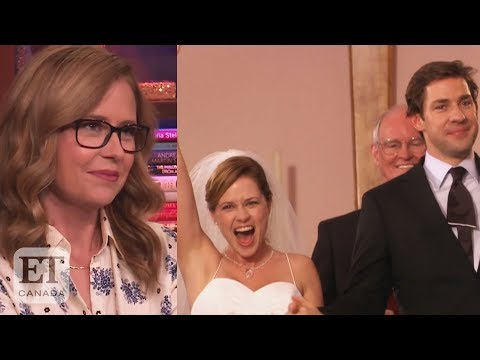 Jenna Fischer On Jim and Pam Divorce Speculation