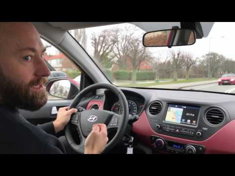VW Up vs Hyundai i10 (DK/Danish)