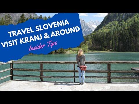 Travel Slovenia - Discover new places - Kranj (DJI Mavic drone)