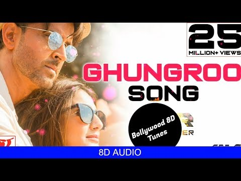 Ghungroo [8D Song]   WAR   Arijit Singh, Shilpa Rao   Use Headphones   Hindi 8D Music