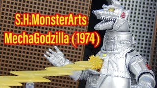 S.H.MonsterArts MechaGodzilla (1974) Review