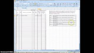 Using Excel to Journalize in the Sales Journal