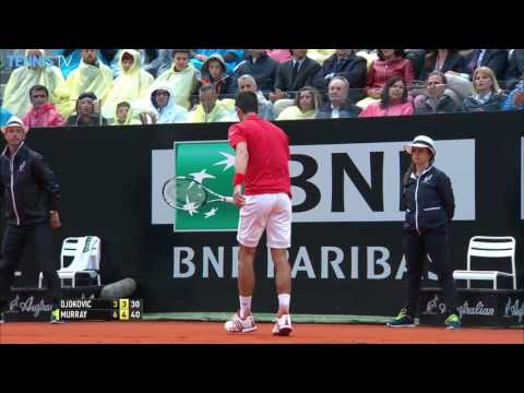 Rome 2016 Singles Final Highlights