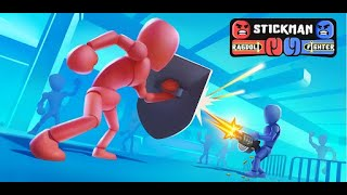 Stickman Ragdoll Fighter Gameplay   Mobile   No Commentary
