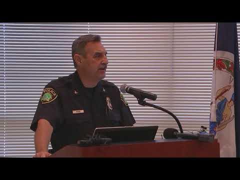Keeping Newport News Safe Press Briefing