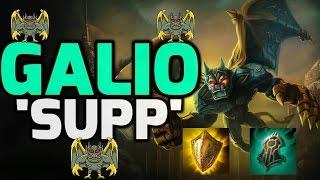 GALIO SUPPORT THE LASERBEAM GRAGOYLE - League of Legends Season 6