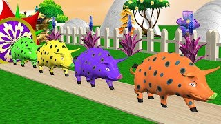Learn Animals To Transformed Farm Animals Into Source - For Kids Rhymes