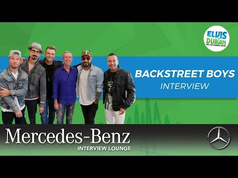 Backstreet Boys on How They've Changed Since Their Start | Elvis Duran Show
